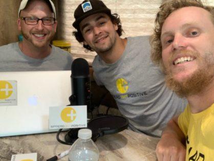 New Podcast out now with Brady Silverwood and Nate Hiser! @bradyrunsamerica and @natedrivesamerica! Amazing Story!