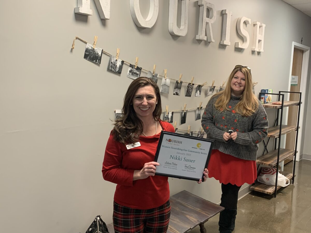 Women Nourishing The Community Series! January Recipient is...